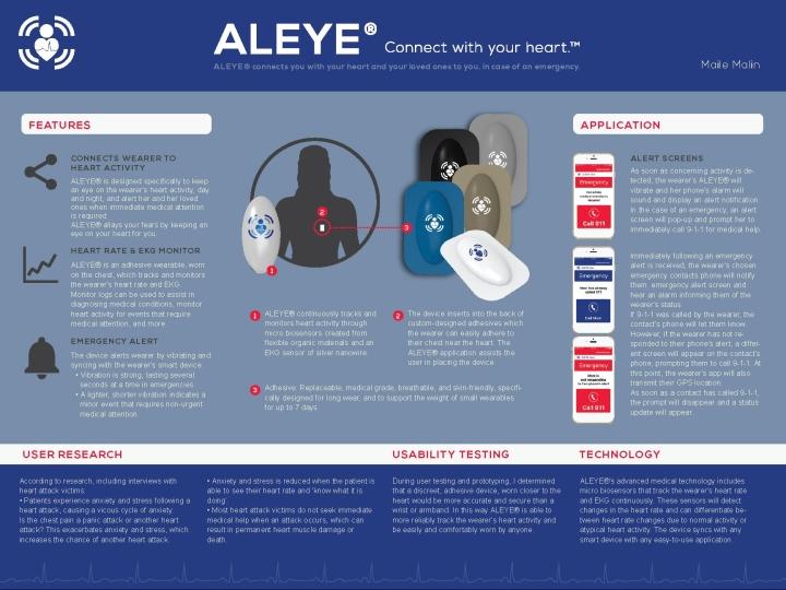 Aleye One Sheet