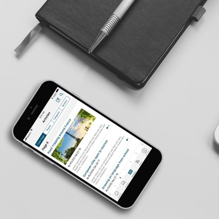vBulletin B2B Mobile AppDesigns