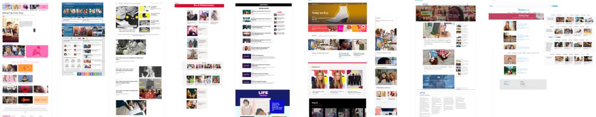 advice sites screenshot