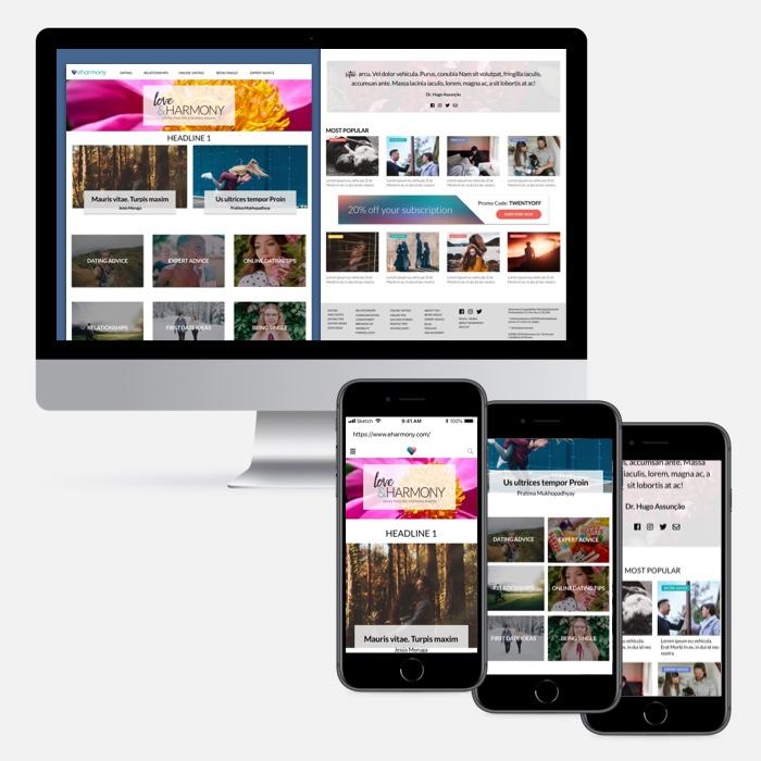 eharmony Blog DesignExplorations