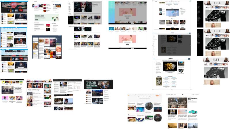 News and Blog sites